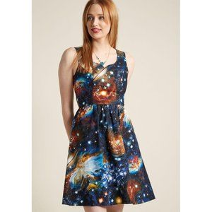 Modcloth Heart and Solar System Dress